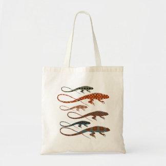 Florilla's Lizards Tote Bag