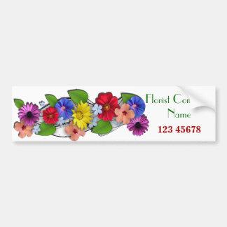 Florist Business Theme Collection Bumper Stickers