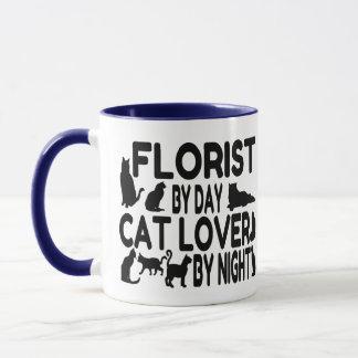 Florist Cat Lover Mug