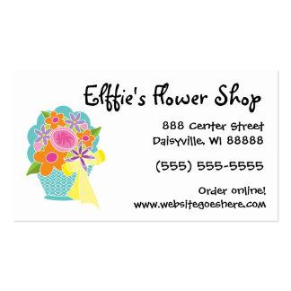 Florist Flower Shop Cute Floral Business Card