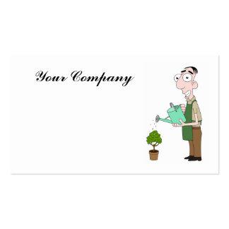 Florist / Gardener Business Cards