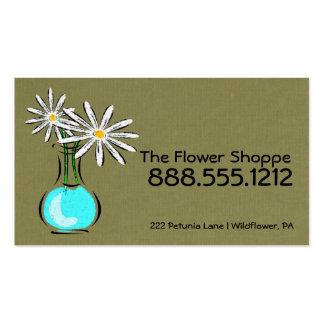 Florist or Flower Shop Business Cards