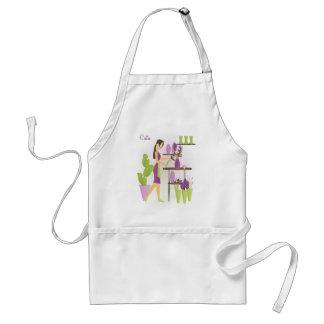 Florist-Purple Standard Apron