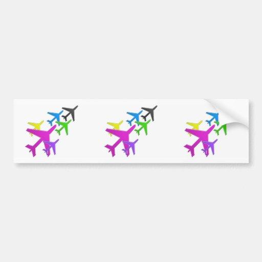 flotte d'avion cadeaux pour les enfants AEROPLANE Bumper Sticker