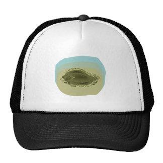 Flounder Fish Trucker Hats