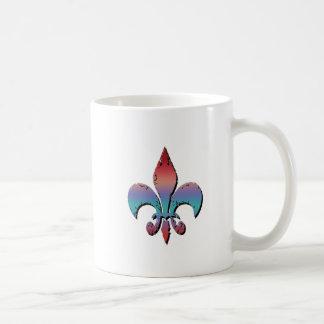 Flour De Lis Coffee Mugs