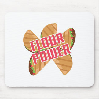 Flour Power Mouse Pad