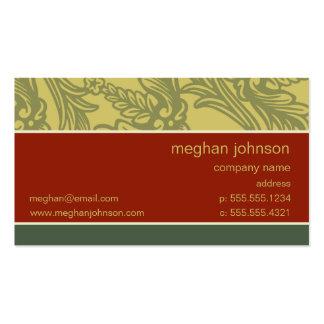 Flourish Brick Chic Business Card Template