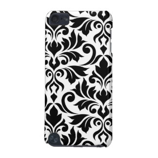 Flourish Damask Art I Black on White iPod Touch (5th Generation) Cover