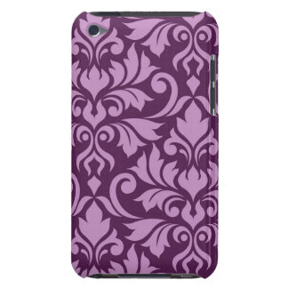 Flourish Damask Art I Pink on Plum Case-Mate iPod Touch Case