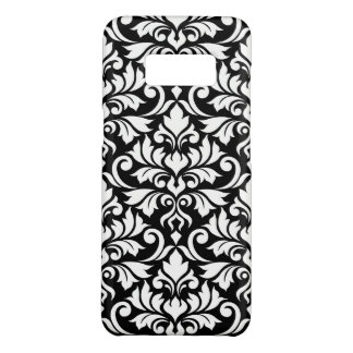 Flourish Damask Big Pattern White on Black Case-Mate Samsung Galaxy S8 Case