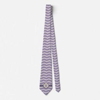 Flourished Zigzag Men's Neck Tie