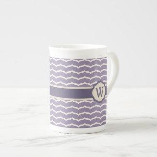 Flourished Zigzag Specialty Mug