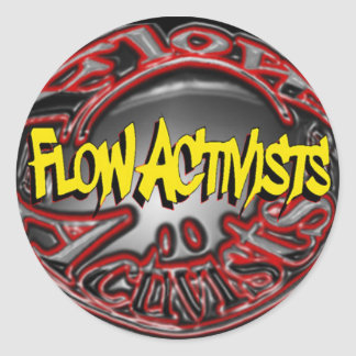 Flow Activists Sticker