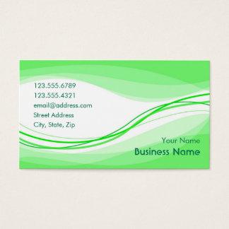 Flow Business Card (green)