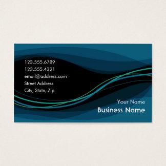 Flow Business Card (night blue)