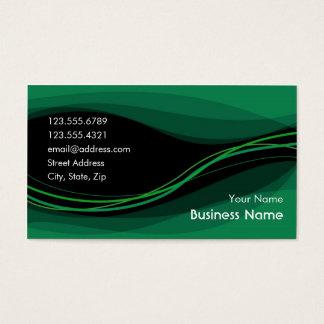 Flow Business Card (night green)