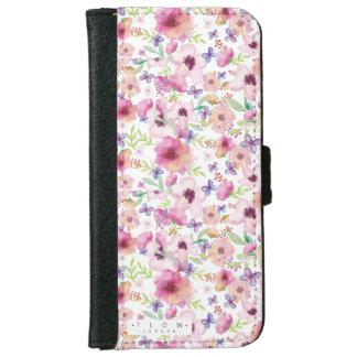 Flow - LONDON - Floral iPhone 6/6s Wallet Case
