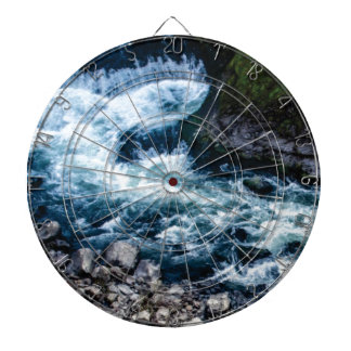 flow of the river white dartboard