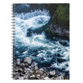 flow of the river white notebooks