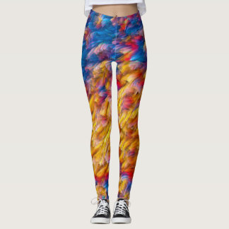 Flow Rave Love Pastel Leggings