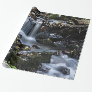 Flow Water through the jungle Wrapping Paper
