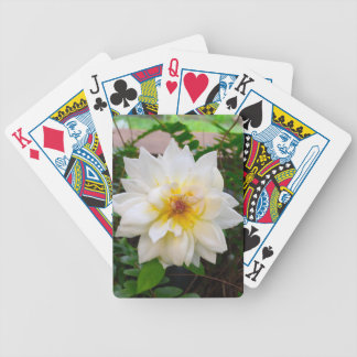 flower17 bicycle playing cards
