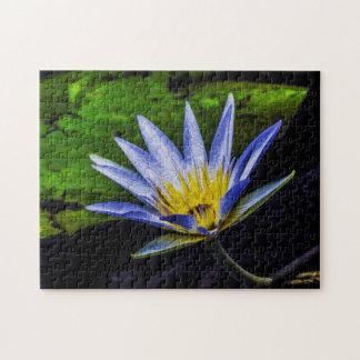 Flower 007 Waterlily Digital Art - Photo Puzzle