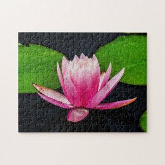 Flower 037 Waterlily Digital Art - Photo Puzzle