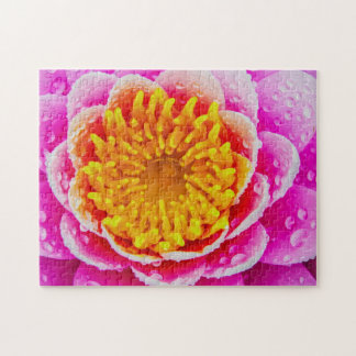 Flower 055 Waterlily Digital Art - Photo Puzzle