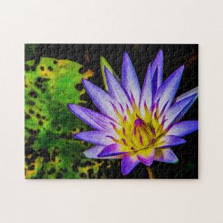 Flower 057 Waterlily Digital Art - Photo Puzzle