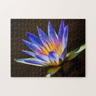 Flower 060 Waterlily Digital Art - Photo Puzzle