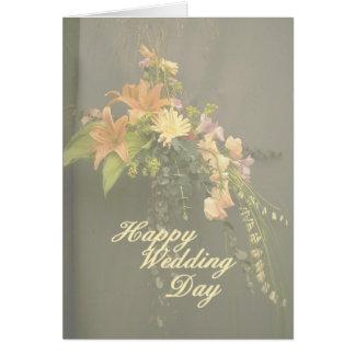 Flower 103 wedding card
