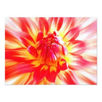 Flower 14 Cm X 19 Cm Invitation Card