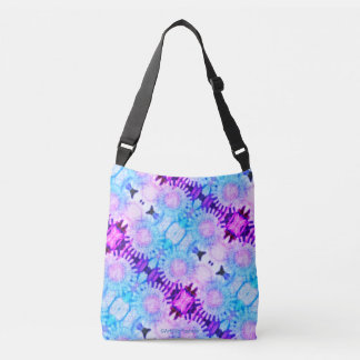 Flower #28 - All-Over-Print Cross Body Bag