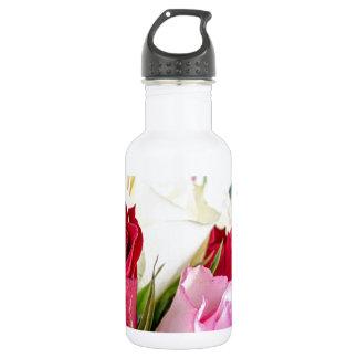 flower-316621 flower flowers rose love red pink ro 532 ml water bottle