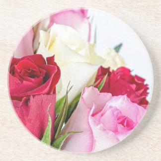 flower-316621 flower flowers rose love red pink ro drink coasters