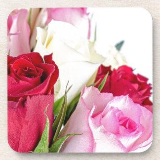 flower-316621 flower flowers rose love red pink ro coasters