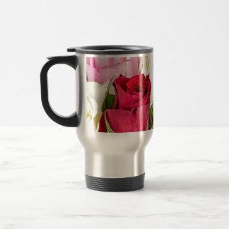 flower-316621 flower flowers rose love red pink ro stainless steel travel mug