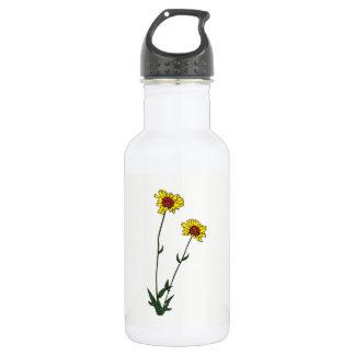 Flower 532 Ml Water Bottle