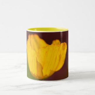 Flower  9 Two-Tone coffee mug