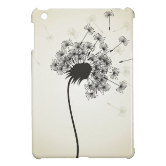 Flower a dandelion cover for the iPad mini