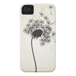 Flower a dandelion iPhone 4 Case-Mate cases
