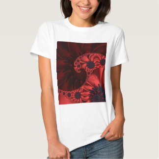 Flower abstraction designed by Tutti Shirt