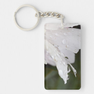 Flower After A Light Shower Acrylic Keycahain Key Ring