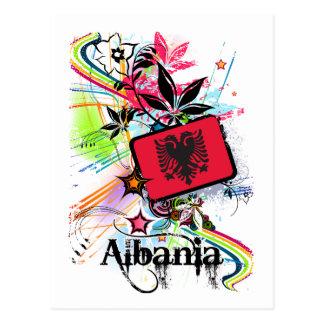 Flower Albania Postcard