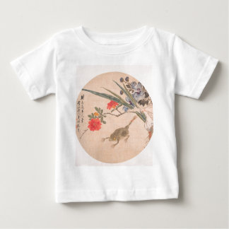 Flower and Toad - Zhang Xiong (Chinese, 1803–1886) Baby T-Shirt