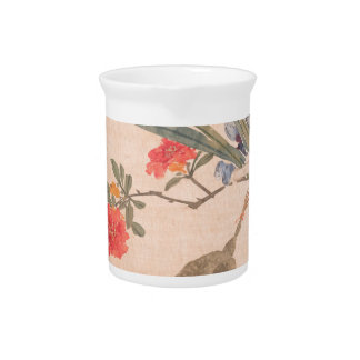 Flower and Toad - Zhang Xiong (Chinese, 1803–1886) Beverage Pitchers