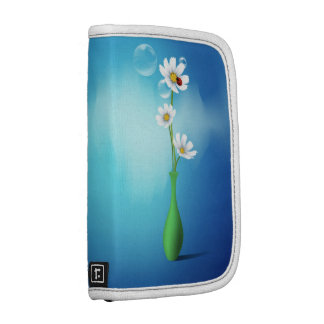Flower and Vase Smartphone Folio Planners