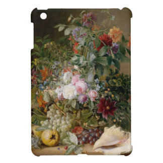 Flower Arrangement and Seashell Cover For The iPad Mini